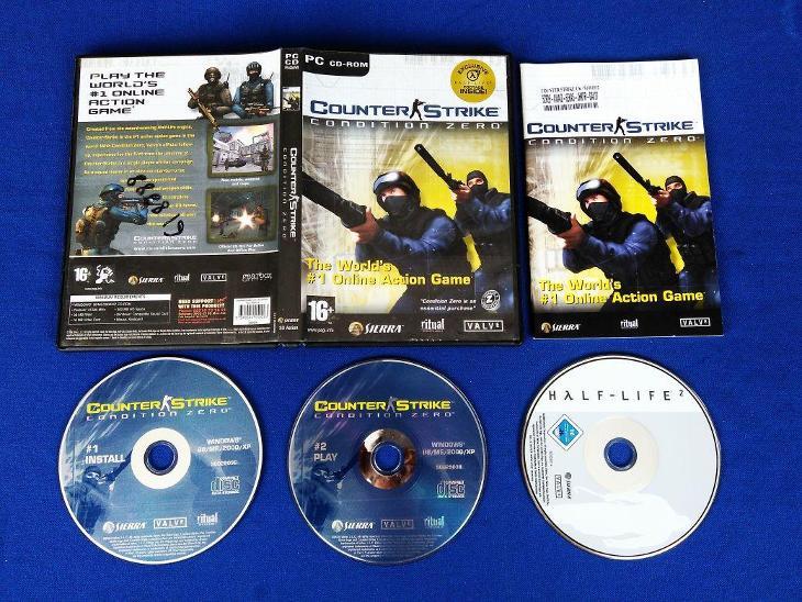 PC - COUNTER STRIKE CONDITION ZERO, HALF-LIFE 2 (retro rok 2004) Top - Hry