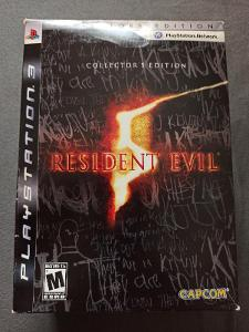 PS3 Resident Evil 5 Collectors Edition Box