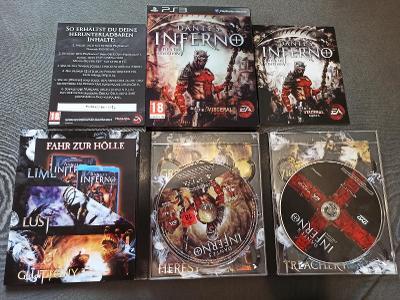 PS3 Dantes Inferno Death Edition