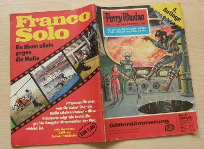 Perry Rhodan Nr.4 * 4.vydání 1. série nejslavnějšího scifi seriálu * N