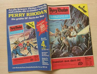 Perry Rhodan Nr.7 * 4.vydání 1. série nejslavnějšího scifi seriálu * N