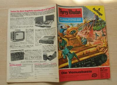 Perry Rhodan Nr.8 * 4.vydání 1. série nejslavnějšího scifi seriálu * N
