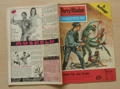 Perry Rhodan Nr.9 * 4.vydání 1. série nejslavnějšího scifi seriálu * N