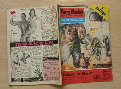 Perry Rhodan Nr.11 * 4.vydání 1. série nejslavnějšího scifi seriálu *N