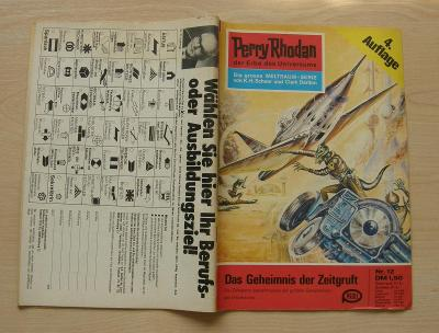 Perry Rhodan Nr.12 * 4.vydání 1. série nejslavnějšího scifi seriálu *N