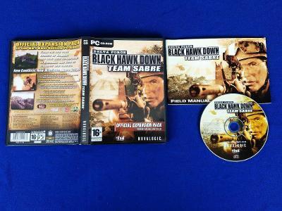 PC - DELTA FORCE BLACK HAWK DOWN TEAM SABRE expans.pack(retro 2004)Top