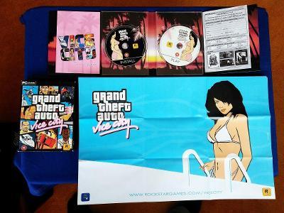 PC - GRAND THEFT AUTO VICE CITY, GTA sběratel. vydání (retro 2003) Top