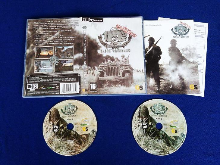 PC - HIDDEN and DANGEROUS 2 SABRE SQUADRON mission pack(retro 2004)Top - Hry