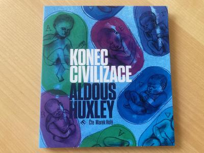 CD audiokniha ALDOUS HUXLEY: Konec civilizace