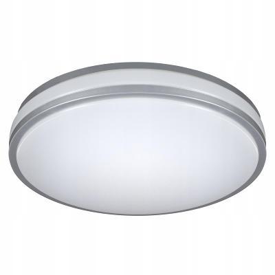 D-400 LED ALU  - designové moderní stropní světlo lustr - PRŮMĚR 40cm