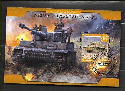Madagaskar-druhá světová válka-tank TIGER I. Panzerkampfwagen VI Tiger