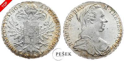🔥 (Z500) Marie Terezie, Levantský Tolar, Novoražba (Ag 833/1000, 28g)