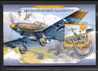 Madagaskar-druhá světová válka-letadla - bombardér Junkers Ju 87 Stuka