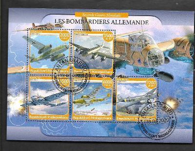 Madagaskar-druhá světová válka-bombardér Blitz,Condor,HE111,DO217,JU88