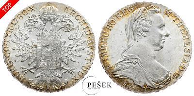🔥 (Z501) Marie Terezie, Levantský Tolar, Novoražba (Ag 833/1000, 28g)