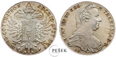 🔥 (Z502) Marie Terezie, Levantský Tolar, Novoražba (Ag 833/1000, 28g)