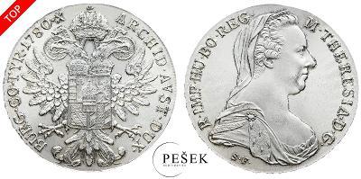 🔥 (Z503) Marie Terezie, Levantský Tolar, Novoražba (Ag 833/1000, 28g)