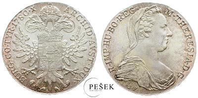 🔥 (Z505) Marie Terezie, Levantský Tolar, Novoražba (Ag 833/1000, 28g)