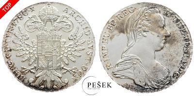 🔥 (Z508) Marie Terezie, Levantský Tolar, Novoražba (Ag 833/1000, 28g)