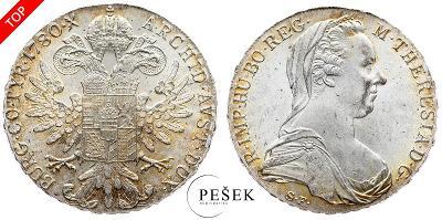 🔥 (Z509) Marie Terezie, Levantský Tolar, Novoražba (Ag 833/1000, 28g)
