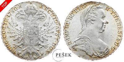 🔥 (Z510) Marie Terezie, Levantský Tolar, Novoražba (Ag 833/1000, 28g)