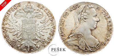 🔥 (Z511) Marie Terezie, Levantský Tolar, Novoražba (Ag 833/1000, 28g)
