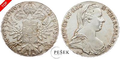 🔥 (Z515) Marie Terezie, Levantský Tolar, Novoražba (Ag 833/1000, 28g)