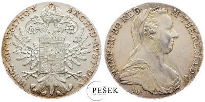 🔥 (Z517) Marie Terezie, Levantský Tolar, Novoražba (Ag 833/1000, 28g)
