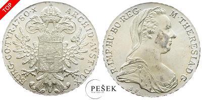 🔥 (Z522) Marie Terezie, Levantský Tolar, Novoražba (Ag 833/1000, 28g)