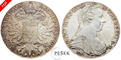 🔥 (Z528) Marie Terezie, Levantský Tolar, Novoražba (Ag 833/1000, 28g)