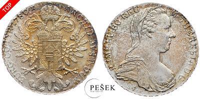 🔥 (Z534) Marie Terezie, Levantský Tolar, Novoražba (Ag 833/1000, 28g)