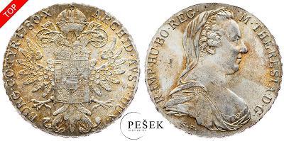 🔥 (Z535) Marie Terezie, Levantský Tolar, Novoražba (Ag 833/1000, 28g)