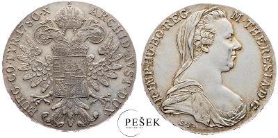🔥 (Z537) Marie Terezie, Levantský Tolar, Novoražba (Ag 833/1000, 28g)