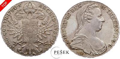 🔥 (Z538) Marie Terezie, Levantský Tolar, Novoražba (Ag 833/1000, 28g)