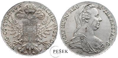 🔥 (Z539) Marie Terezie, Levantský Tolar, Novoražba (Ag 833/1000, 28g)