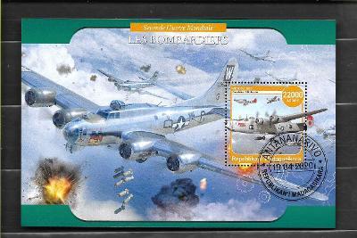 Madagaskar- II. světová válka - bombardér Consolidated B-24 Liberator