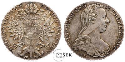 🔥 (Z540) Marie Terezie, Levantský Tolar, Novoražba (Ag 833/1000, 28g)