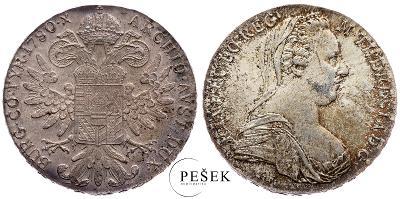 🔥 (Z541) Marie Terezie, Levantský Tolar, Novoražba (Ag 833/1000, 28g)