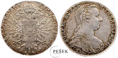 🔥 (Z542) Marie Terezie, Levantský Tolar, Novoražba (Ag 833/1000, 28g)