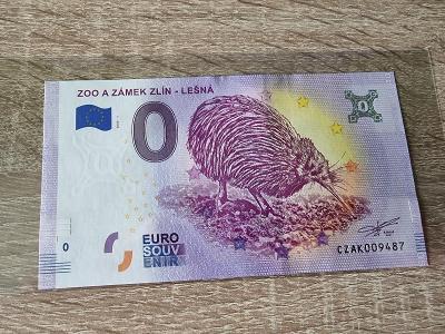 0 Euro Souvenir | Zoo a zámek Zlín - Lešná