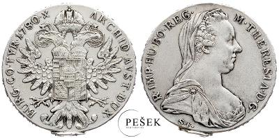 🔥 (Z546) Marie Terezie, Levantský Tolar, Novoražba (Ag 833/1000, 28g)