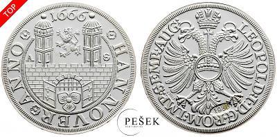 🔥 (Z549) Německo, 1666, Novoražba (Ag 999,9/1000, 7,164g)