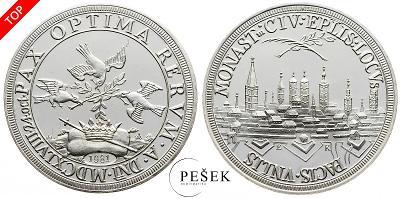 🔥 (Z551) Německo, medaile, 1981 (Ag, 11,5g)