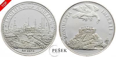 🔥 (Z552) Německo, medaile, 1990 (Ag, 11,278g)