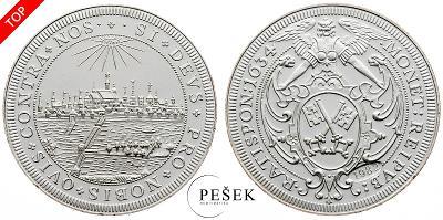 🔥 (Z553) Německo, medaile, 1634, Novoražba (Ag, 11,151g)