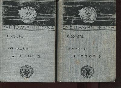 Cestopis I. a II. (2 svazky, Ottova Světová knihovna)