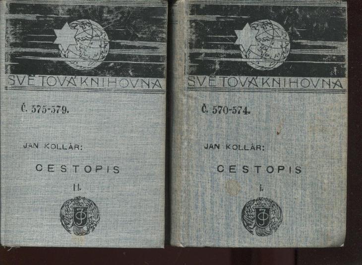 Cestopis I. a II. (2 svazky, Ottova Světová knihovna) - Knihy