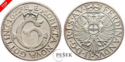 🔥 (Z557) Německo, 1627, Novoražba (Ag 1000/1000, 11,813g)