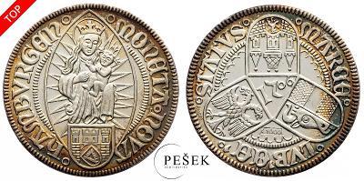 🔥 (Z558) Německo, 1706, Novoražba (Ag 1000/1000, 16,930g)