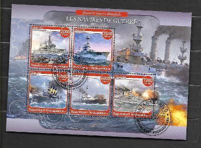 Madagaskar - I. světová válka - válečné  lodě